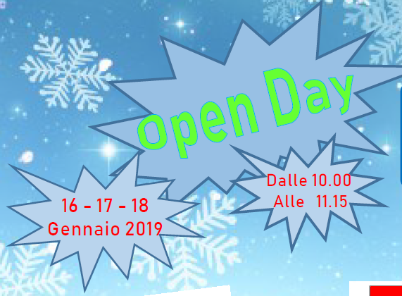 Open Day 2019 infanzia