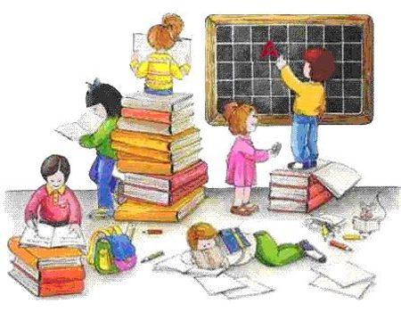 Immagine bambini a scuola